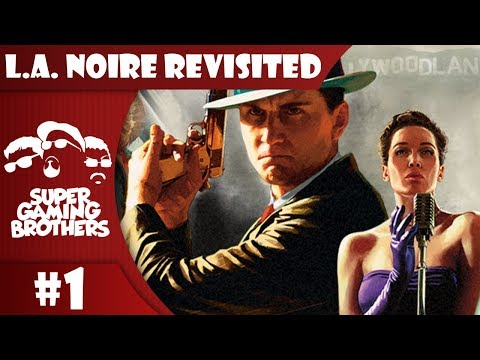 SGB Play: L.A. Noire (PS4) - Part 1 | Walking the Beat IN HD!