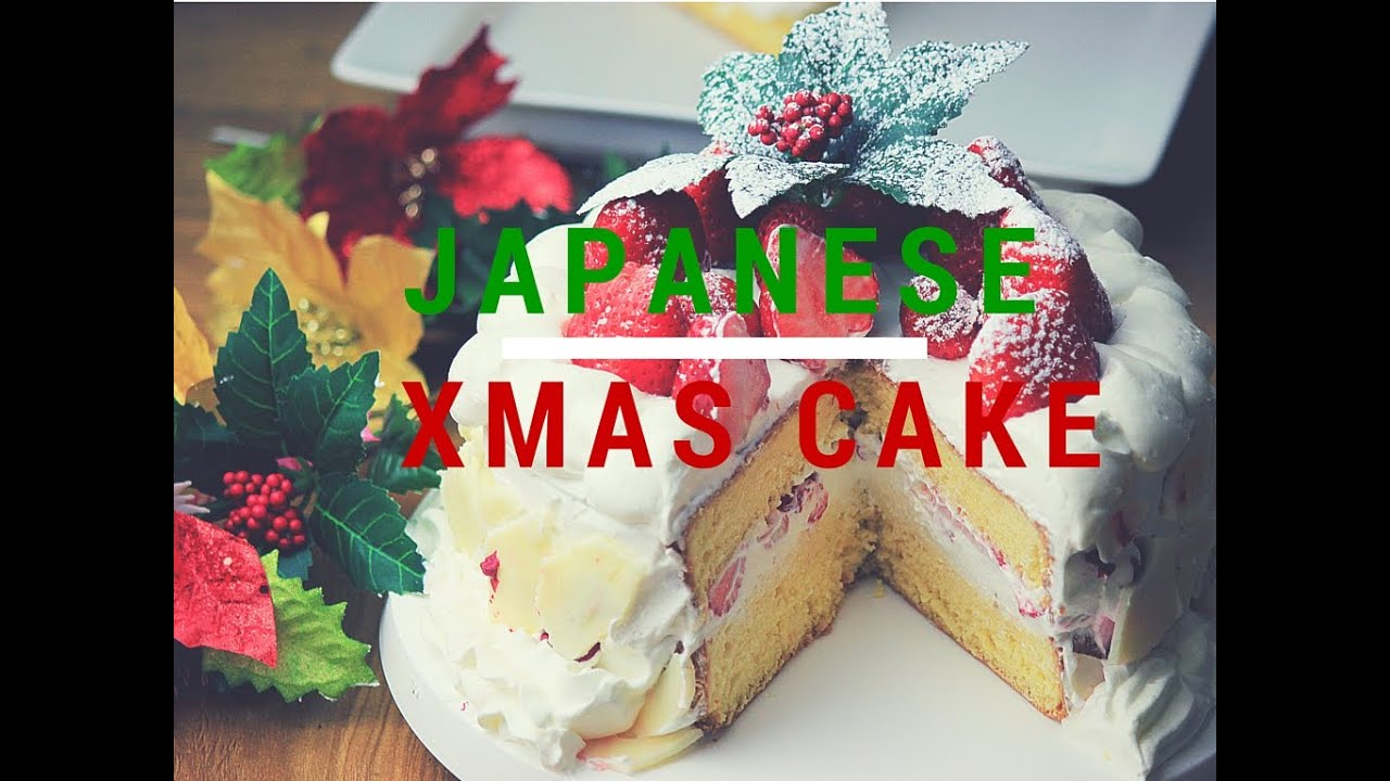 How to make christmas cake - How To Make A Japanese Christmas Cake Cooking With Mira