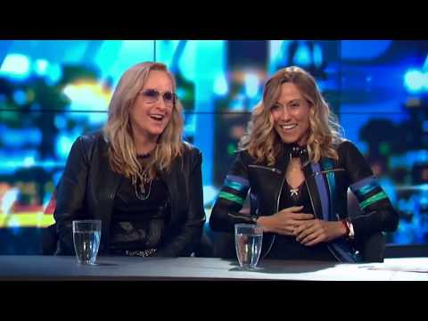 Sheryl Crow & Melissa Etheridge Interviewed on The Project (Australia - 5 Apr 2018)