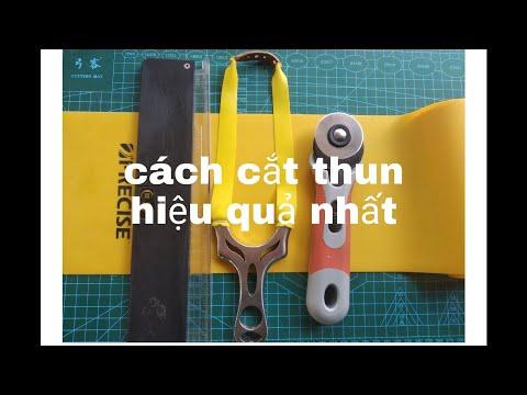 Cách cắt thun