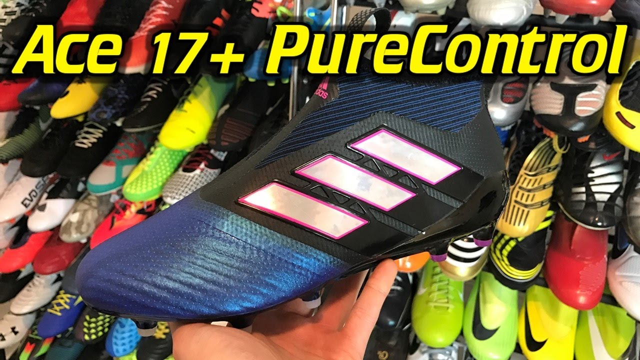 Adidas ACE 17+ PureControl (Blue Blast) One Take Review + On Feet