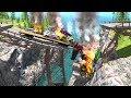 Collapsing Bridge Pileup Crashes #5 - BeamNG Drive Crash Testing