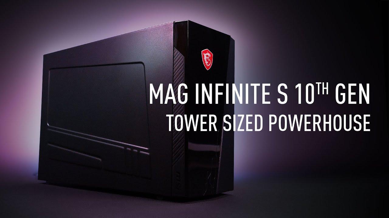 MAG Infinite S 10th - Un PC compact mais puissant