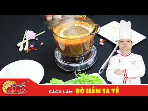Cách làm Bò Hầm Sa Tế cay nồng thơm ngon cùng Thầy Y | How to make Steamed Satay Beef