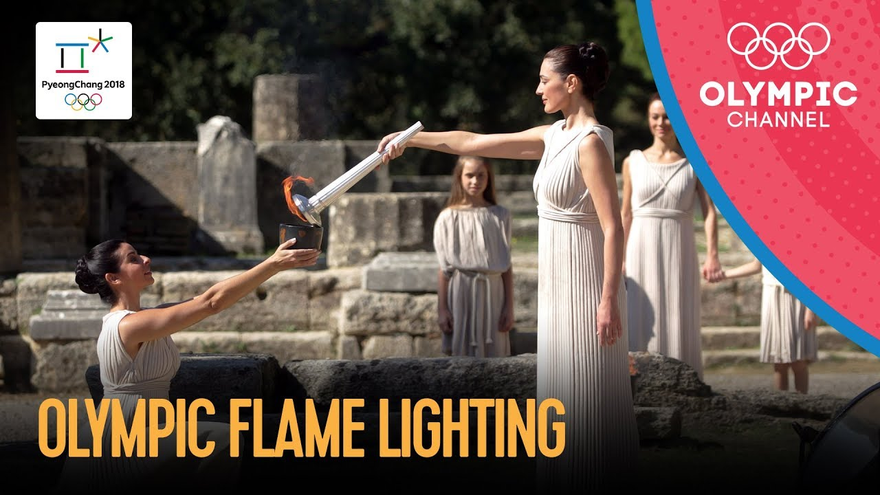 Olympic Flame Lighting Ceremony for PyeongChang 2018 & ? Olympic Flame Lighting Ceremony for PyeongChang 2018 - YouTube azcodes.com