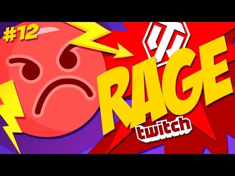 #12 Rage & Streamers | World Of Tanks