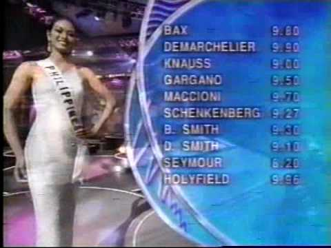 Miss Universe 1999 - 1st RunnerUp Miriam Quiambao (PHILIPPINES)