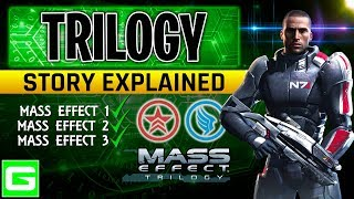 MASS EFFECT TRILOGY - Complete Trilogy Story Explained
