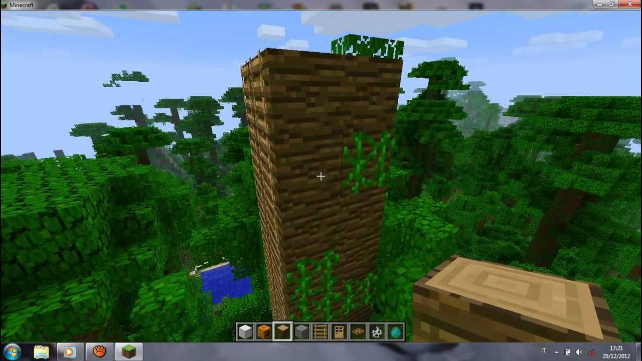 Come costruire una casa sull 39 albero in minecraft youtube - Costruire casa albero ...