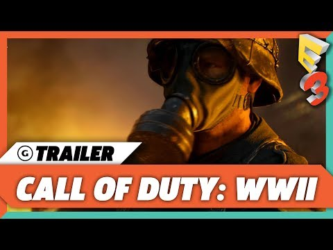 Call of Duty WWII Gameplay Reveal Trailer | E3 2017 Sony Press Conference