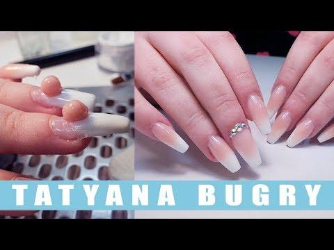 Как клеить ногти на типсы
