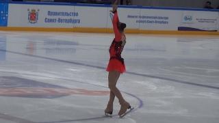 2017 Russian Jr Nationals - Alexandra Trusova FS
