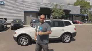 Autoline's 2005 BMW X3 3.0i  Walk Around Review Test Drive