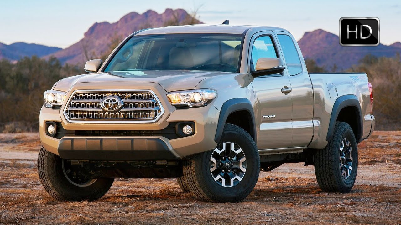 2016 toyota tacoma double cab 4x4 mid size pickup truck off road hd youtube. Black Bedroom Furniture Sets. Home Design Ideas