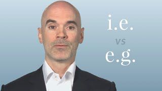 i.e. vs. e.g. - Merriam-Webster Ask the Editor