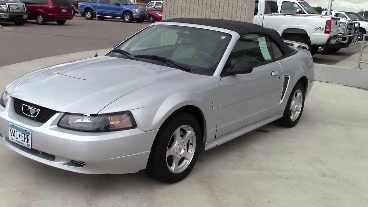 2003 ford mustang convertible deluxe youtube. Black Bedroom Furniture Sets. Home Design Ideas