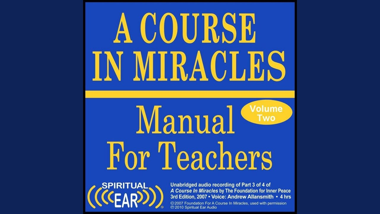 727 Acim Manual M13 What Is The Real Meaning Of Sacrifice