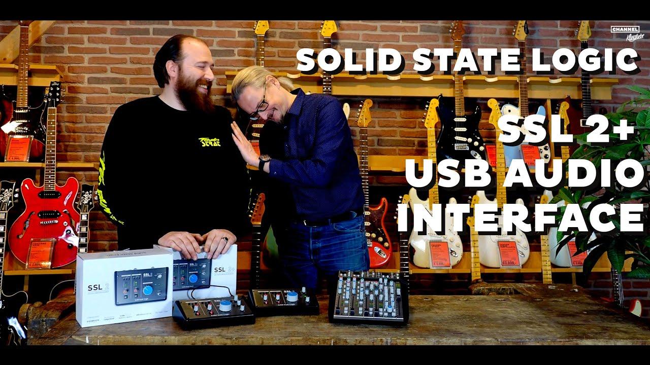 SSL2 USB Audio Interface