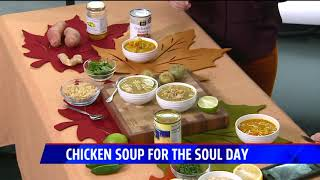 Chicken soups from around the world for Chicken Soup for the Soul Day