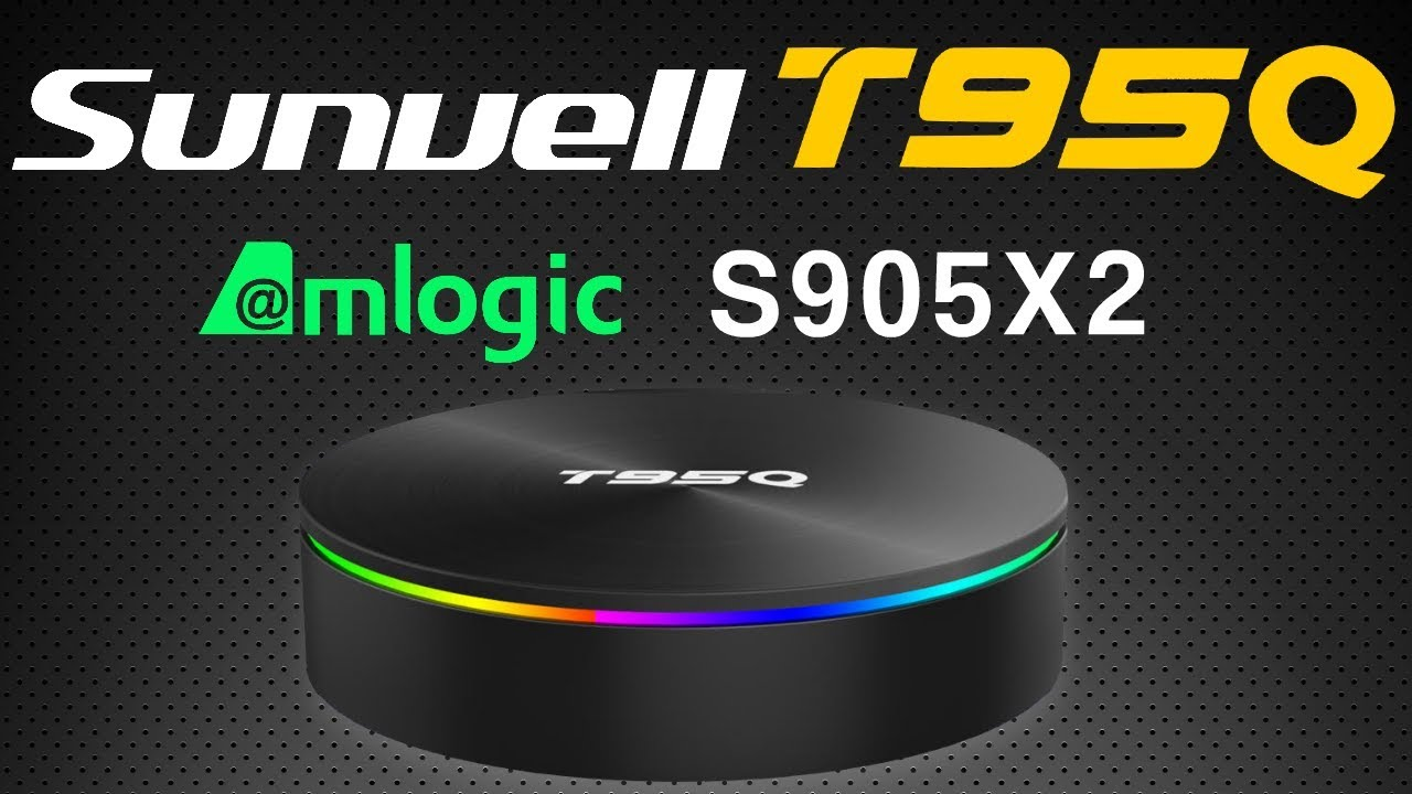 Sunvell T95Q Amlogic S905X2 Android 8 1 4K TV Box Review