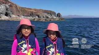 Valentina & Itzayana  #MyOceanPledge Islands and Protected Areas of the Gulf of California