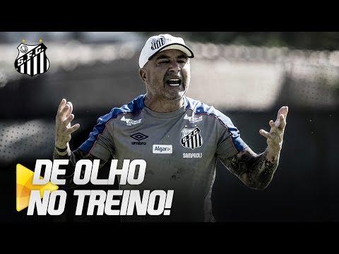 SANTOS INTENSIFICA TRABALHOS NO CT | DE OLHO NO TREINO (27/06/19)