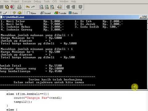 Cara Membuat Program Lewat C++