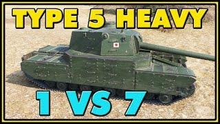 World of Tanks | Type 5 Heavy - 8 Kills - 8.8K Damage