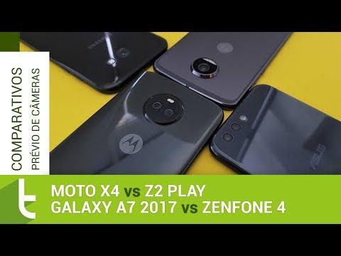 Moto X4 vs Z2 Play, Galaxy A7 2017 e Zenfone 4   Comparativo prévio de câmeras TudoCelular
