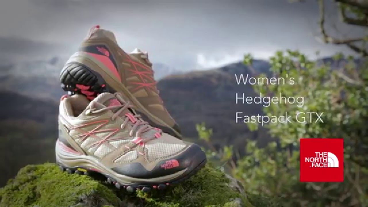 d91623ba5 The North Face Hedgehog fastpack GTX Women's Walking Shoe. www.gaynors.co.uk