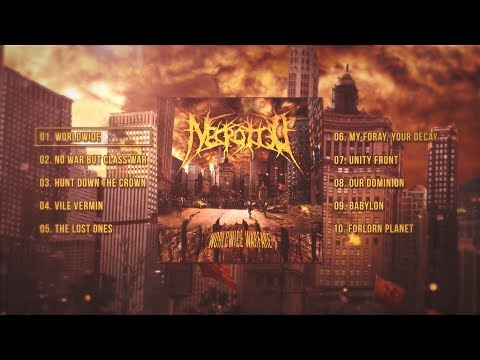 NECROTTED - WORLDWIDE WARFARE [OFFICIAL ALBUM STREAM] (2017) SW EXCLUSIVE - 동영상