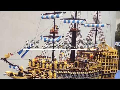Sailing LEGO Ships YouTube - Biggest lego ship