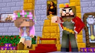 BABY LITTLE KELLY GETS GROUNDED! | Minecraft Little Kelly