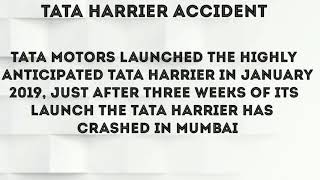 FIRST #ACCIDENT OF TATA HARRIER AFTER SELLING
