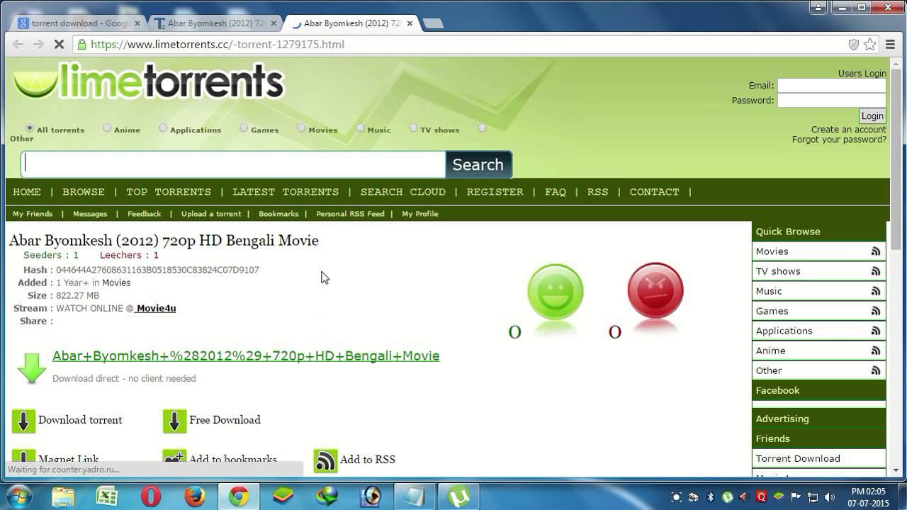 best torrent site for bengali movie download