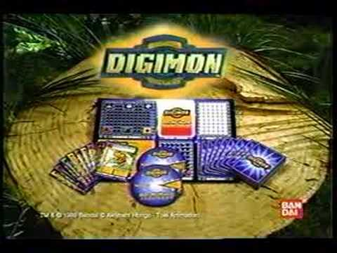 Digimon Card Game + Digimon World (PSX) - Commercial - YouTube