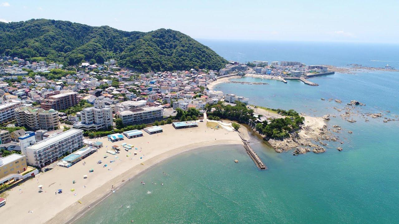 【Beautiful Japan】森戸海岸  [DJI Mavic air 2]