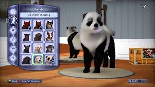 Симс 3 КОШКИ И СОБАКИ Домашние животные Кошка и настройка одежка собак и кошек и Пород собак и кошек