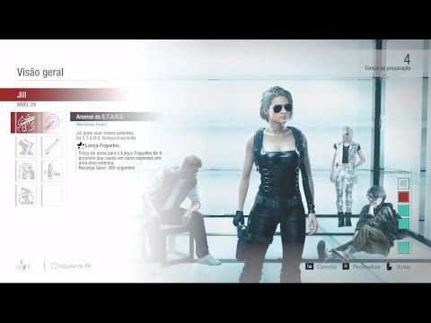 Jill Valentine Retribution Resident Evil Resistance Youtube