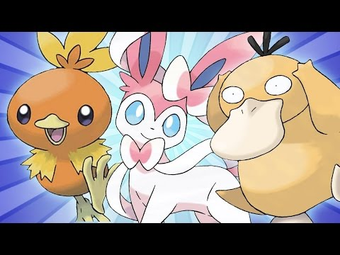 Masuda's 6 favorite pokemon