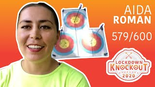 Aida Roman shoots 579/600 for qualification | Lockdown Knockout