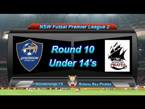NSWFPL Round 10 U14 - Boomerangs FS vs Botany Bay Pirates