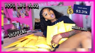 VLOG | SHIPPING ORDERS,WHOLESALE , ORGANZING & MORE |