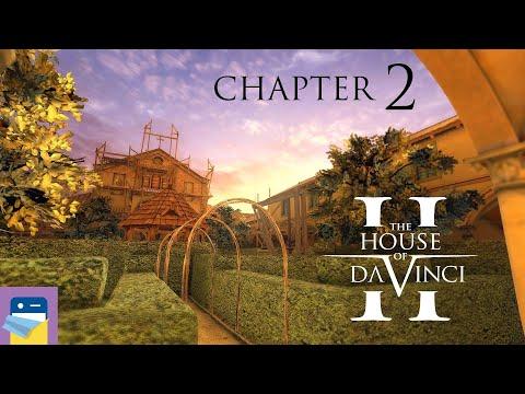 The House of Da Vinci 2: Chapter 2 Maria delle Grazie Walkthrough & Gameplay (by Blue Brain Games)