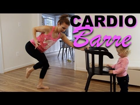 cardio barre workout at home  youtube