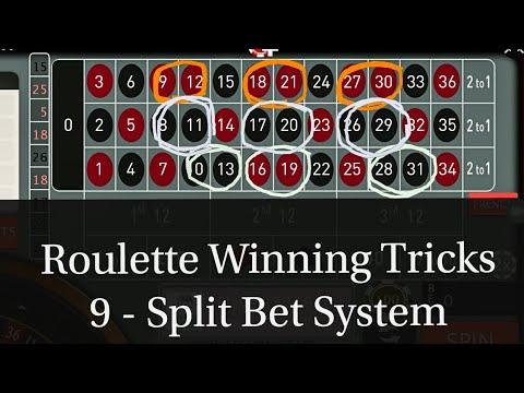 9 - Split Bet System Online Casino Game Roulette Winning ...