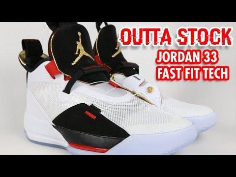 8289f41c4797 Jordan 33  Laceless Fast Fit Tech
