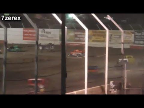 #28 John Krempp Jr Dwarf Car Rollover Barona Speedway 10- 5-2019