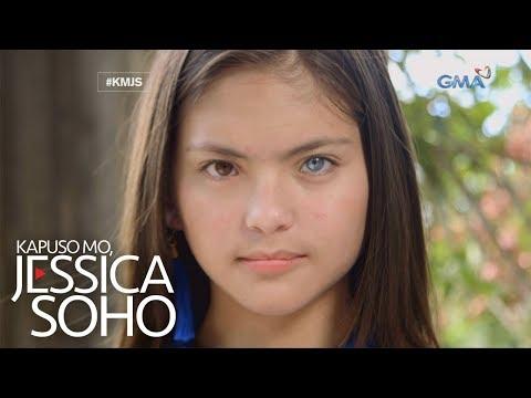 Kapuso Mo, Jessica Soho: Dalagang magkaiba ang kulay ng mga mata, kilalanin