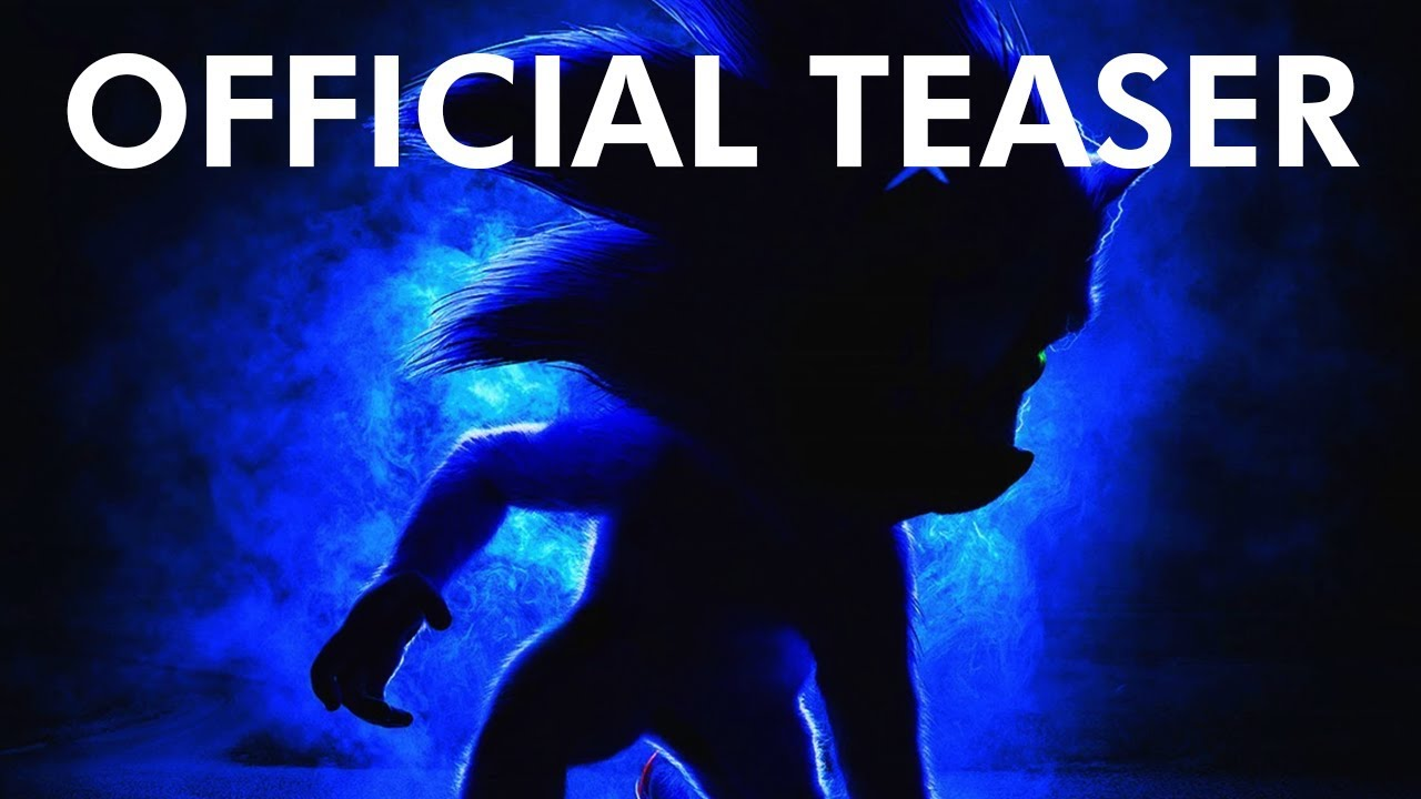 Official Movie Posters 2019: Sonic The Hedgehog 2019 Teaser Poster